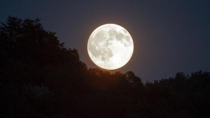 Süper Ay nedir? Süper Ay tutulması nasıl olur? Süper Ay ne zaman gerçekleşiyor?