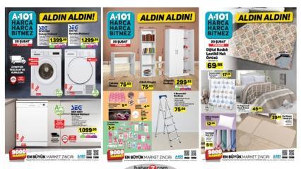 21 Şubat A101 Aktüel   Tüm katalog ürünlerinde indirim!