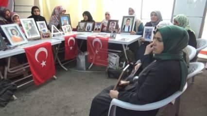 Diyarbakır'daki evlat nöbeti 168. gününde