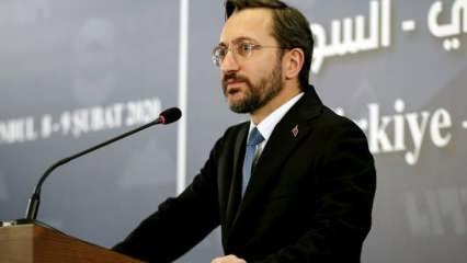 İletişim Başkanı Altun'dan Almanya'daki saldırıya sert tepki