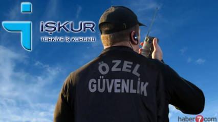 İŞKUR üzerinden 718 Özel Güvenlik Görevlisi alımı yapılacak! Silahlı - Silahsız ÖGG alımı