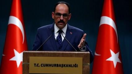 Kalın'dan Abdullah Gül'e cevap