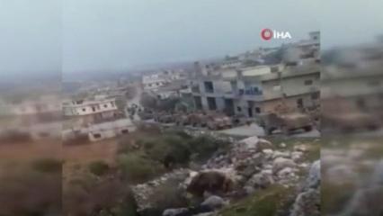 Mehmetçik emir bekliyor! İdlib'de TSK'nın tankları peş peşe sıralandı
