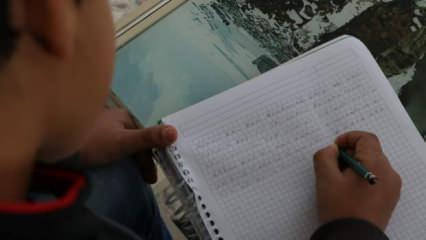 Okurken göz yaşlarınızı tutamayacaksınız! 10 yaşındaki Muhammed Mehmetçiğe yazdı