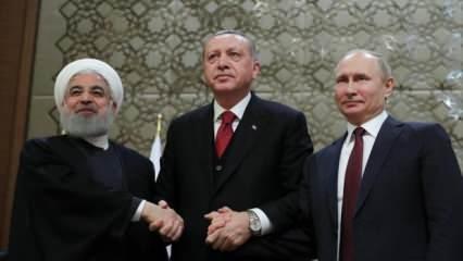 Son dakika olarak duyuruldu! Suriye'de hayati gelişme! Türkiye, Rusya ve İran...