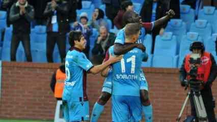 Trabzonspor, ilk 7'nin de lideri