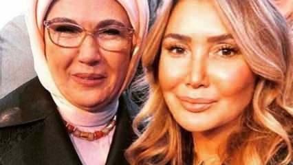Ünlü şarkıcı Yonca Evcimik'ten Emine Erdoğan'a övgü dolu sözler