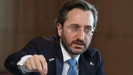 Altun, 'Türkiye'nin başka çaresi kalmadı' deyip duyurdu