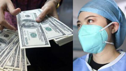'Bende koronavirüs var' diyene 1400 dolar ödül verecekler