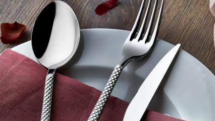 Ramazan sofraları için çatal, kaşık ve bıçak seti alırken nelere dikkat edilmeli?