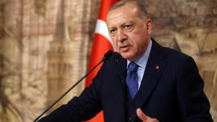 Cumhurbaşkanı Erdoğan: Şom ağızlılara hak ettikleri dersi verdik