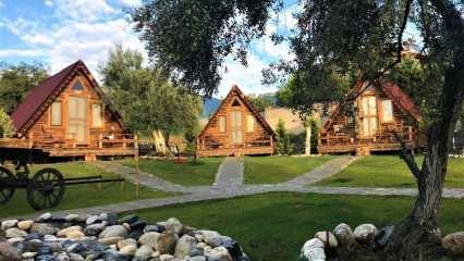 Kazdağları bungalov evleri nerede? Kazdağları İda Natura Bungalov evinin özellikleri