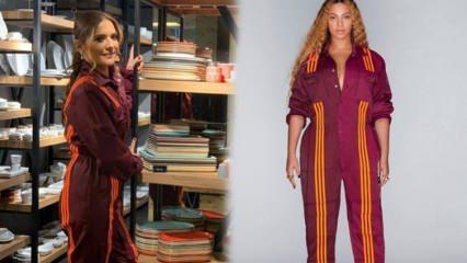 Modada yeni akım: Beyonce Ivy Park Adidas koleksiyonu! Demet Akalın da o akıma uydu
