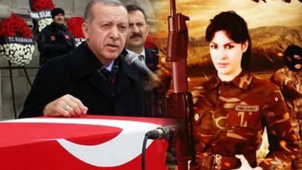 Şarkıcı Tuğba Ekinci'den Başkan Erdoğan paylaşımı: Onun gülüşünde...