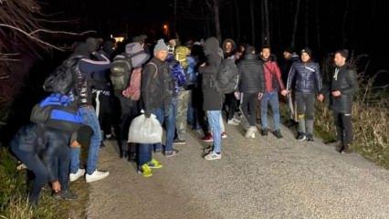 Şimdi Avrupa düşünsün!  Sığınmacılar akın akın gitmeye başladı! İlk görüntüler