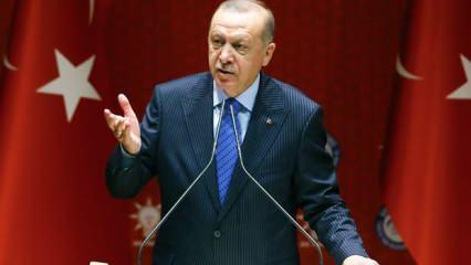 Erdoğan acı haberi canlı yayında duyurdu! Suriye'de son dakika gelişmesi