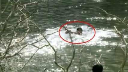 Suriyeli mülteciler, Meriç Nehri'ni yüzerek geçti