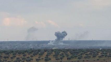 TSK'dan büyük darbe! Neyrab askeri havaalanı yerle bir edildi
