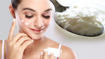 Yoğurt ve karbonat maskesi ne işe yarar? Yoğurt ve karbonat maskesi nasıl yapılır?