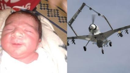 Suriye'de doğan bir bebeğe 'Bayrakdar' ismi verildi