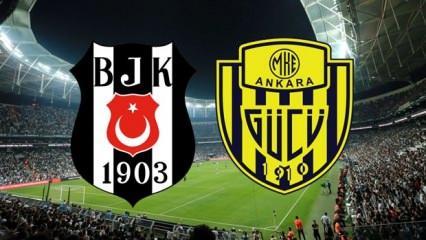 Beşiktaş Ankaragücü maçı ne zaman saat kaçta? Muhtemel 11'ler belli oldu! (Süper Lig)
