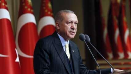 Cumhurbaşkanı Erdoğan'dan son dakika açıklama: Hepsi nasibini alacak!