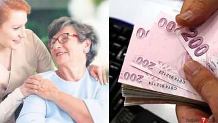 Evde bakım parası ne zaman yatacak! 2020 Yaşlı bakım maaşı başvuru şartları