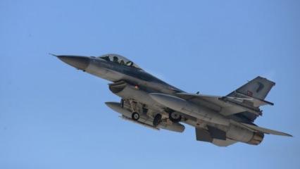 İdlib'e hareket eden Rus uçaklarını F-16'lar durdurdu!