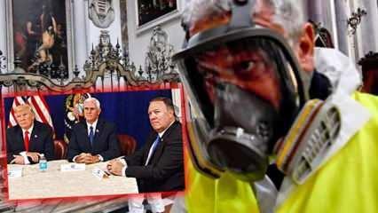 Trump, Pence ve Pompeo'ya koronavirüs mü bulaştı? İtalya'da hayat durdu, virüs komşuya sıçradı