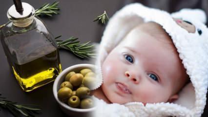 Bebeklere zeytinyağı içirilir mi? Kabızlık için bebeklerde zeytinyağı nasıl kullanılır?