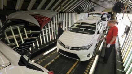 Toyota üretimi azalttı!
