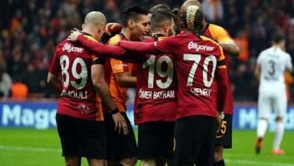 Galatasaray'ın acı tablosu: Gol atamıyor