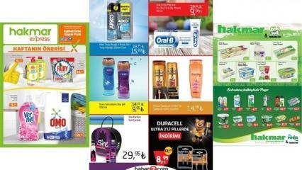 Hakmar 11 Mart aktüel kataloğu! Activex antibakteriyel temizlik ürünlerinde...
