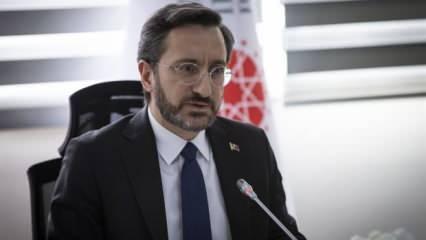 İletişim Başkanı Altun'dan koronavirüs açıklaması: Şeffaf olmaya devam edeceğiz