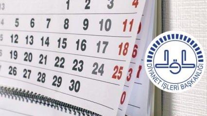 Ramazan ayı ne zaman başlıyor? 2020 Oruç ayı ilk ve son günü (Dini günler takvimi)