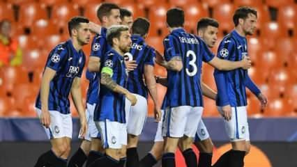 Şampiyonlar Ligi'nde Atalanta çeyrek finalde!