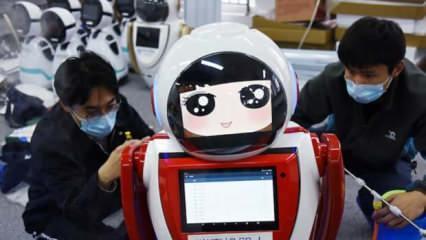 Koronavirüsü fırsata çevirdiler! Robotlar yok satıyor