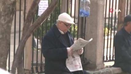 65 yaş üstü yaşlılar sokağa çıkma yasağına uymadı