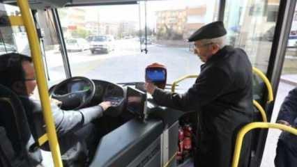 Ankara ve İzmir'de 65 yaş üstüne ücretsiz yolculuk uygulaması durduruldu