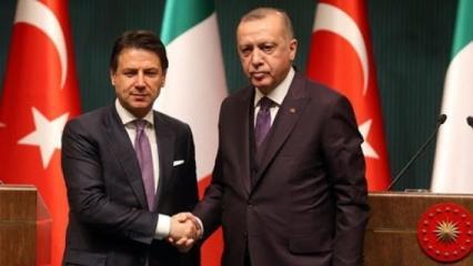 Başkan Erdoğan İtalya Başbakanı Conte ile görüştü
