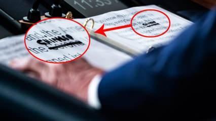 Beyaz Saray'da gergin saatler: Trump üstünü çizip koronavirüsün adını değiştirdi