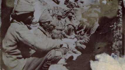 Çanakkale savaşının arşivlerden çıkan fotoğrafları