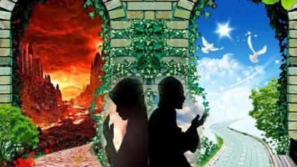 Cennete götüren faziletli zikir ve dualar! Cennete gitmek için ne yapmalıyız?
