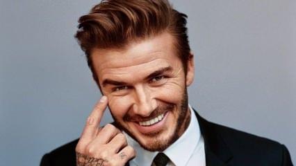 David Beckham ilk kez gülerek poz veren eşi Victoria Beckham'a yorum yaptı!