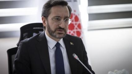 Cumhuriyet gazetesinden Fahrettin Altun'la ilgili bir yalan haber daha