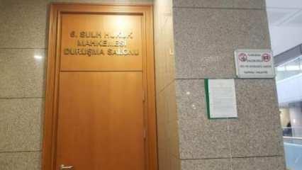 İstanbul Adalet Sarayı'nda koronavirüs karantinası