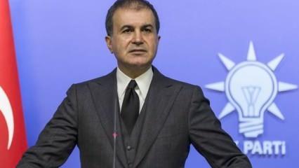 AK Parti Sözcüsü Çelik: PKK ile mücadele sonuna kadar haklıdır