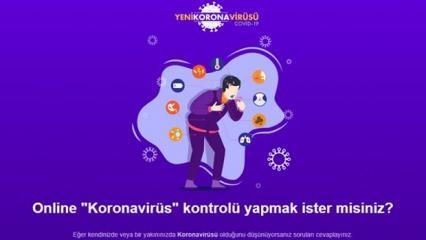 Online Corona virüs testi nasıl yapılır? İşte koronavirüs testi soruları