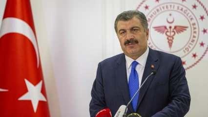 Sağlık Bakanı Koca'dan koronavirüsle ilgili son dakika açıklamalar