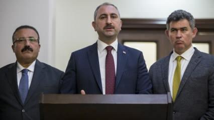 Son dakika haberi: Adalet Bakanı koronavirüse karşı yeni önlemleri açıkladı